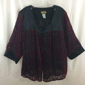 Bob Mackie Women's Jacket Size XL